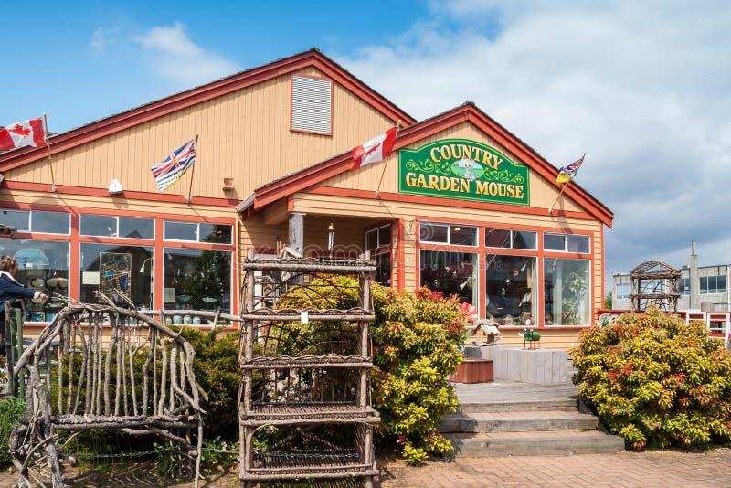 De opslag van de de Tuinmuis van het land in Steveston, Canada royalty-vrije stock afbeelding