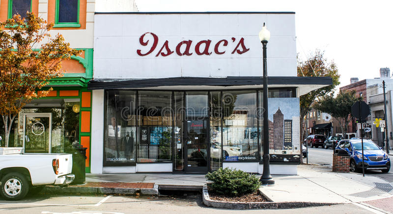 De Opslag van de Mensen van Isaac, Wilmington, NC royalty-vrije stock foto