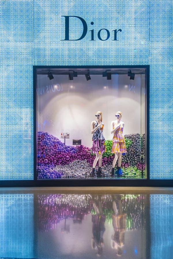 De Opslag van Dior royalty-vrije stock fotografie
