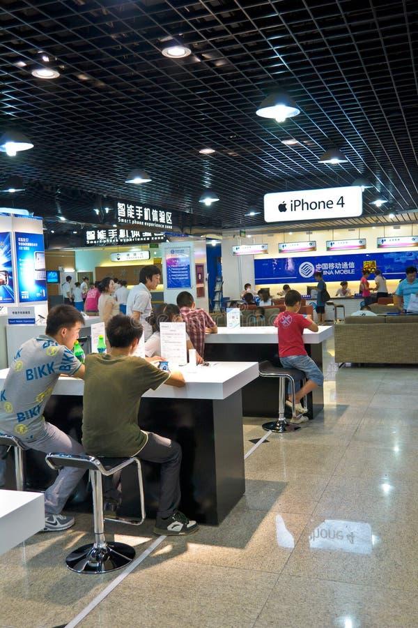 De opslag van Iphone4 stock foto