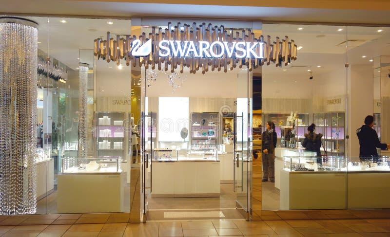 De Opslag van Swarovski royalty-vrije stock foto's