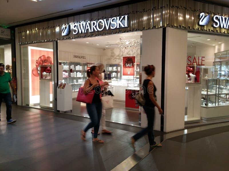 De Opslag van Swarovski stock fotografie