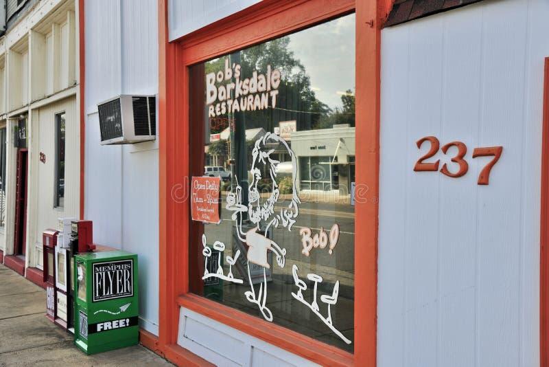 De Opslagvoorzijde van het loodjes` s Barksdale Restaurant stock afbeeldingen