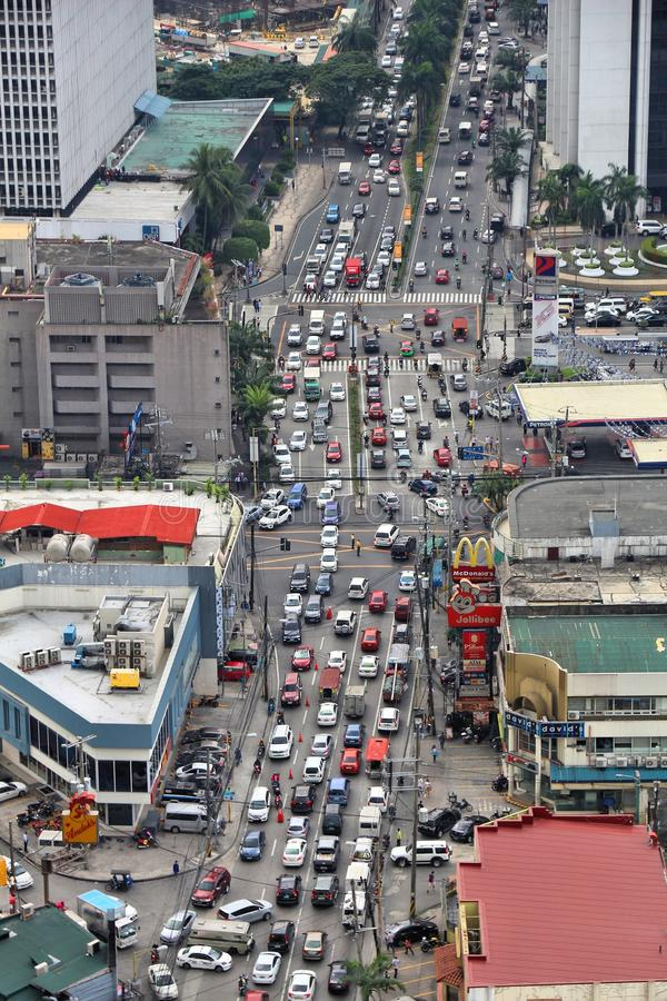 De opstopping van Manilla royalty-vrije stock foto's