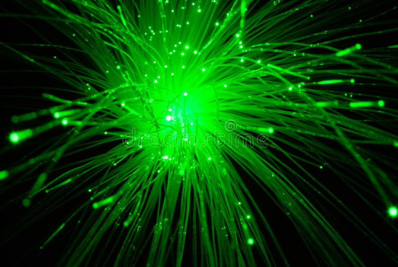 De optica van de vezel royalty-vrije stock afbeelding