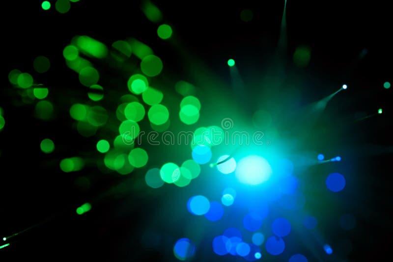 De optische samenvatting van de vezel stock foto's