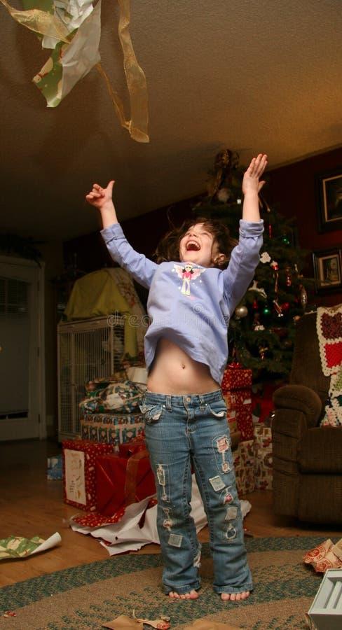 De Opwinding van Kerstmis royalty-vrije stock fotografie