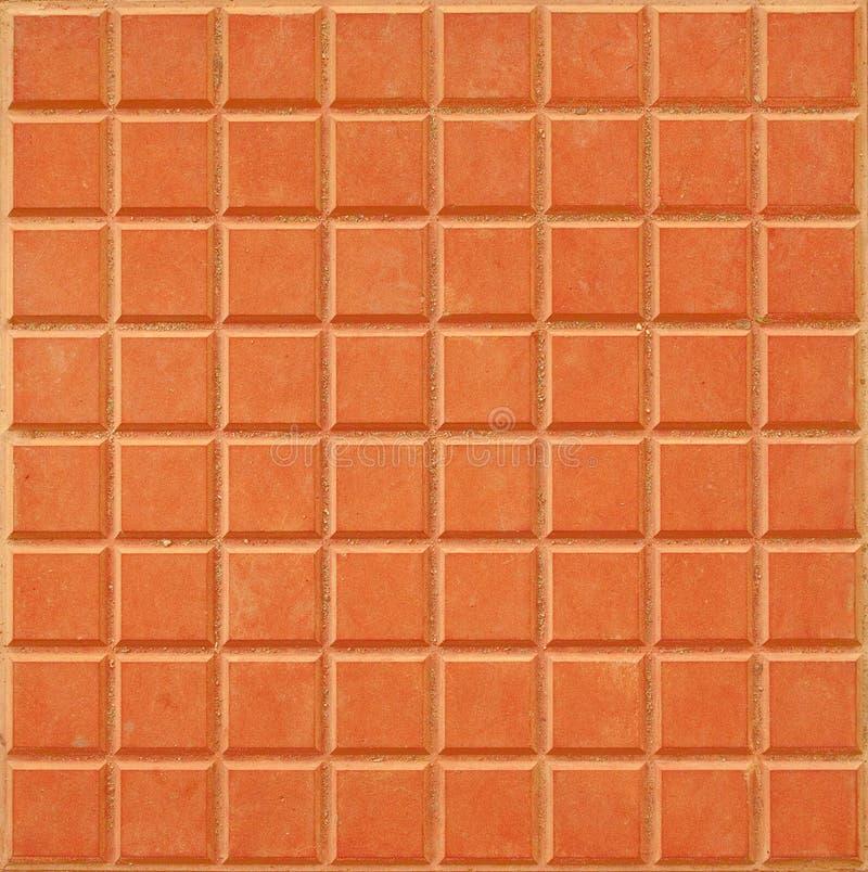 De oranje Achtergrond van de Tegel stock afbeelding