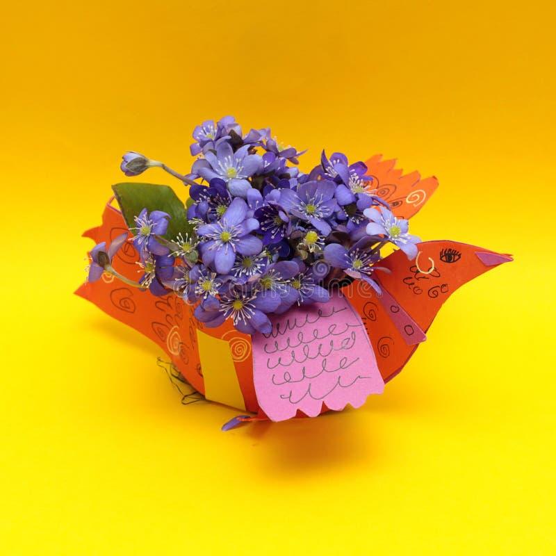 De oranje achtergrond van de zomer of van de lente stock afbeeldingen