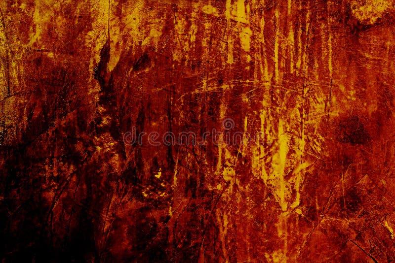 De oranje achtergrond van Grunge royalty-vrije stock afbeeldingen