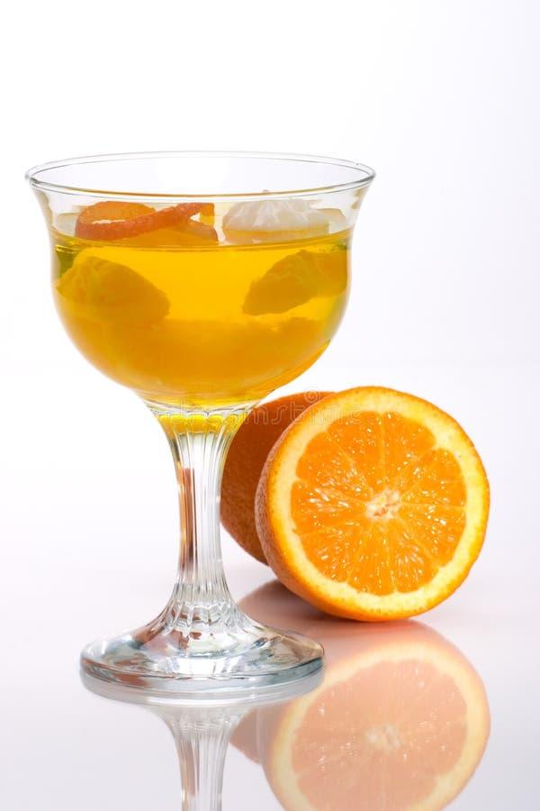 De Oranje gelei van Champagne royalty-vrije stock foto's