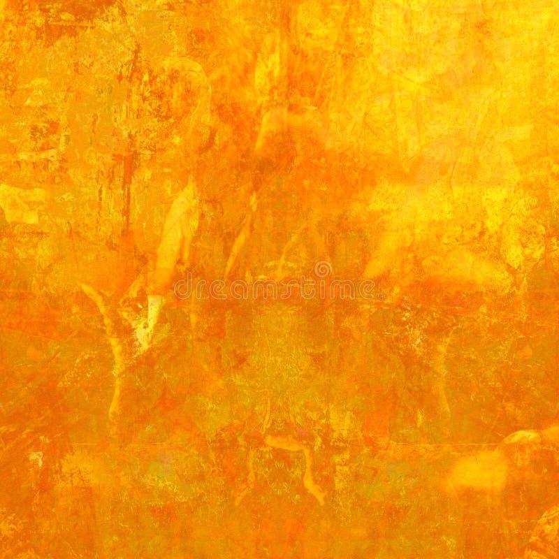 De Oranje Geweven Achtergrond van Grunge stock illustratie