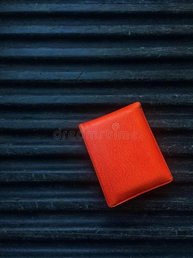 De oranje kleur van kleingeld royalty-vrije stock afbeelding