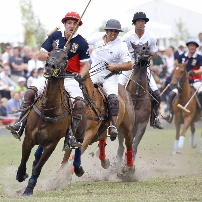 De Oranje Kop 2008 van het polo royalty-vrije stock fotografie