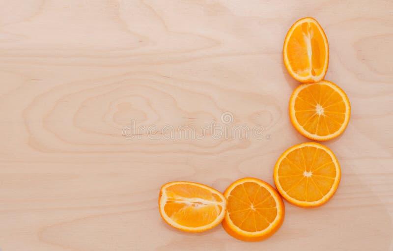 De oranje sectie over de Raad royalty-vrije stock afbeelding