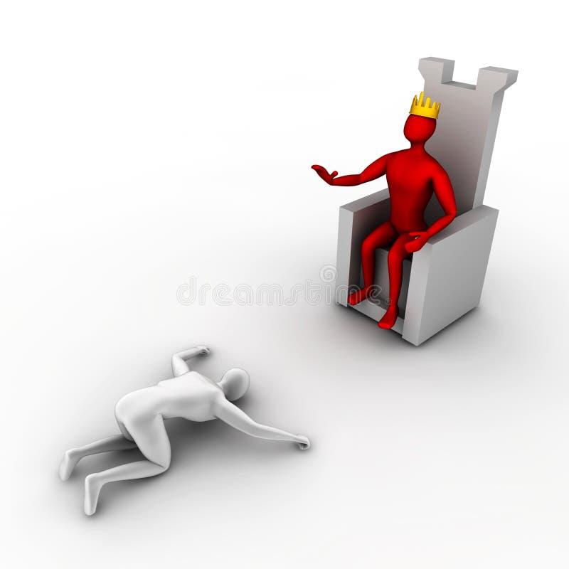 De orden van de Koning vector illustratie