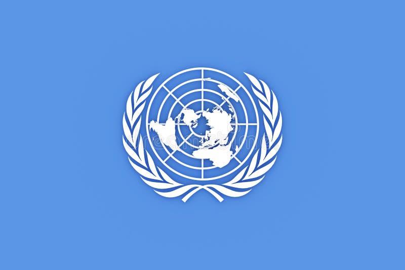 De Organisatie van de Verenigde Naties stock illustratie