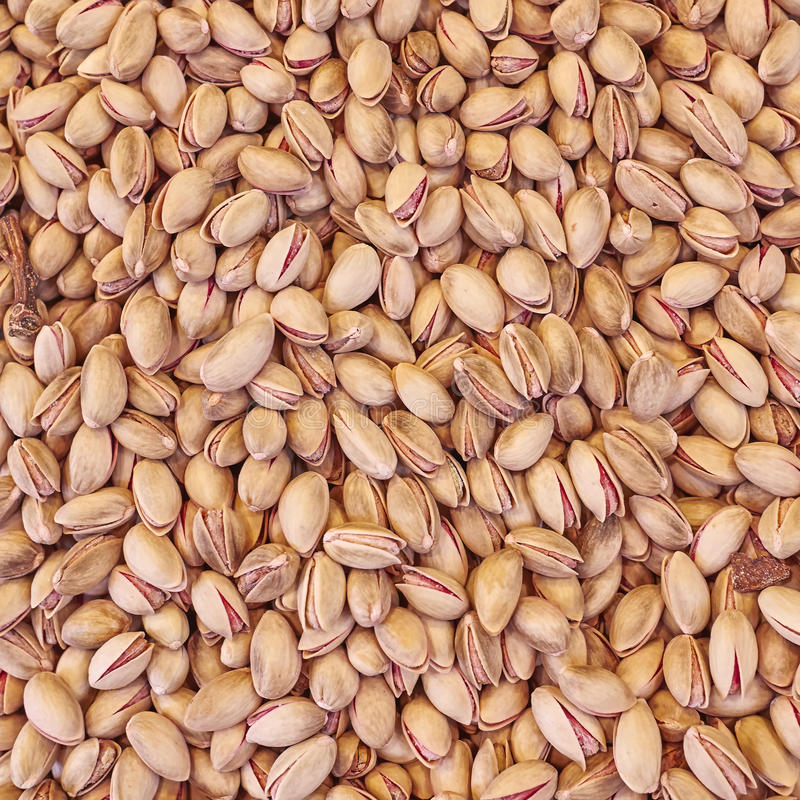 De organische pistaches sluiten omhoog royalty-vrije stock afbeelding