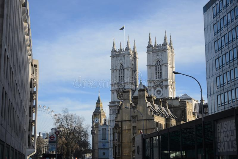 De oriëntatiepunten van Londen royalty-vrije stock foto's