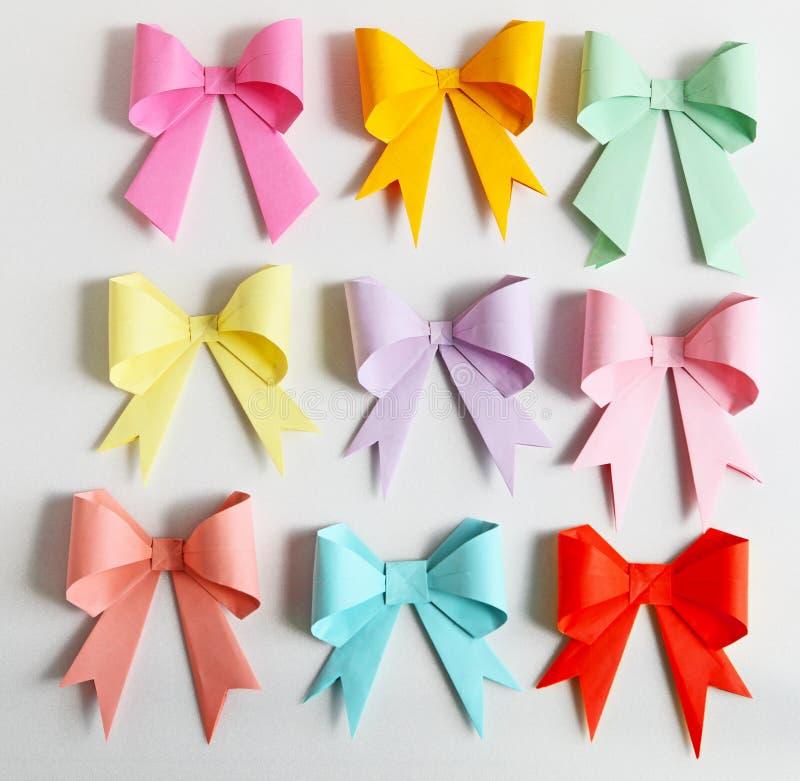 De Origami van de boog royalty-vrije stock foto