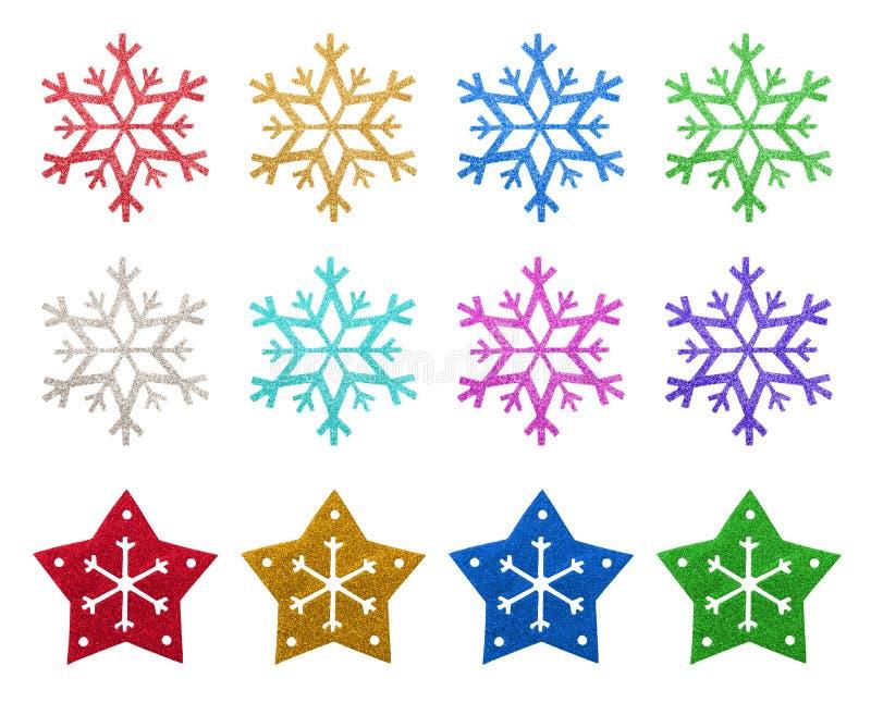 Download De Ornamenten Van De VlokKerstmis Van De Sneeuw Stock Foto - Afbeelding bestaande uit patroon, seizoen: 29513222