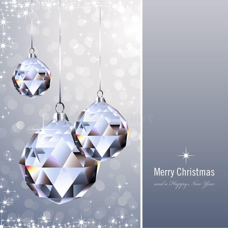 De ornamenten van het kristal stock illustratie
