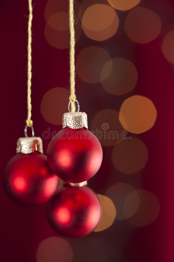 De ornamenten van Kerstmis royalty-vrije stock afbeelding