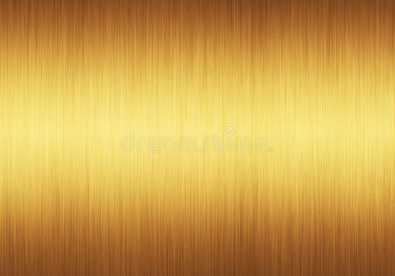 De oro textured ilustración del vector