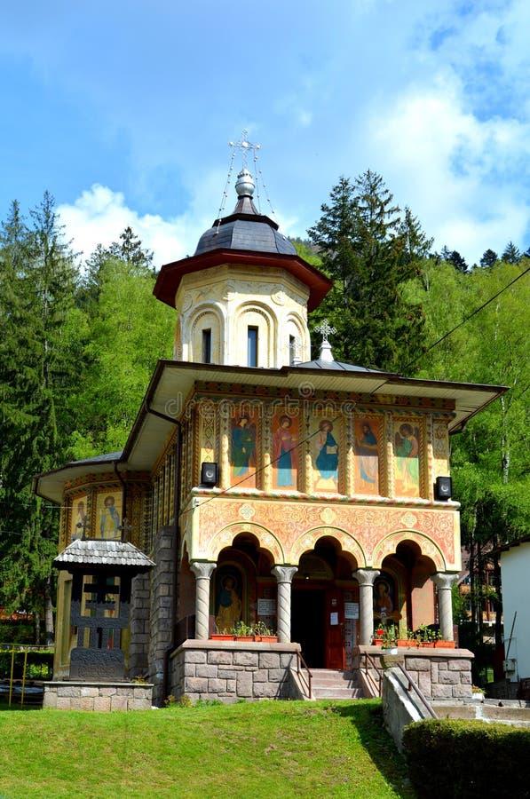 De orthodoxe kerk in Tusnad, Transsylvanië royalty-vrije stock foto