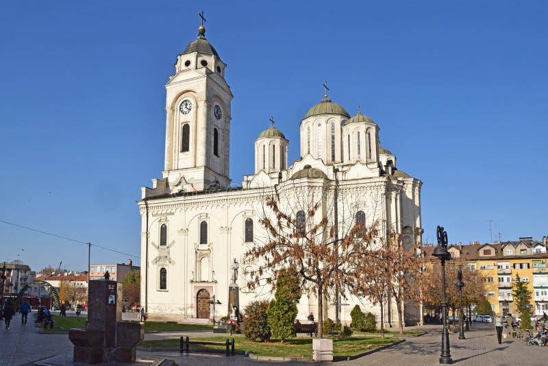 De Orthodoxe kerken in Smederevo royalty-vrije stock afbeeldingen