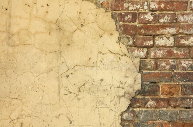 De oude achtergrond van de huismuur stock afbeeldingen