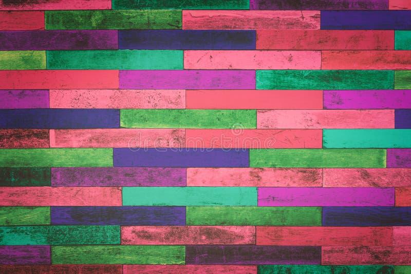De oude achtergrond van de kleuren houten textuur royalty-vrije stock foto