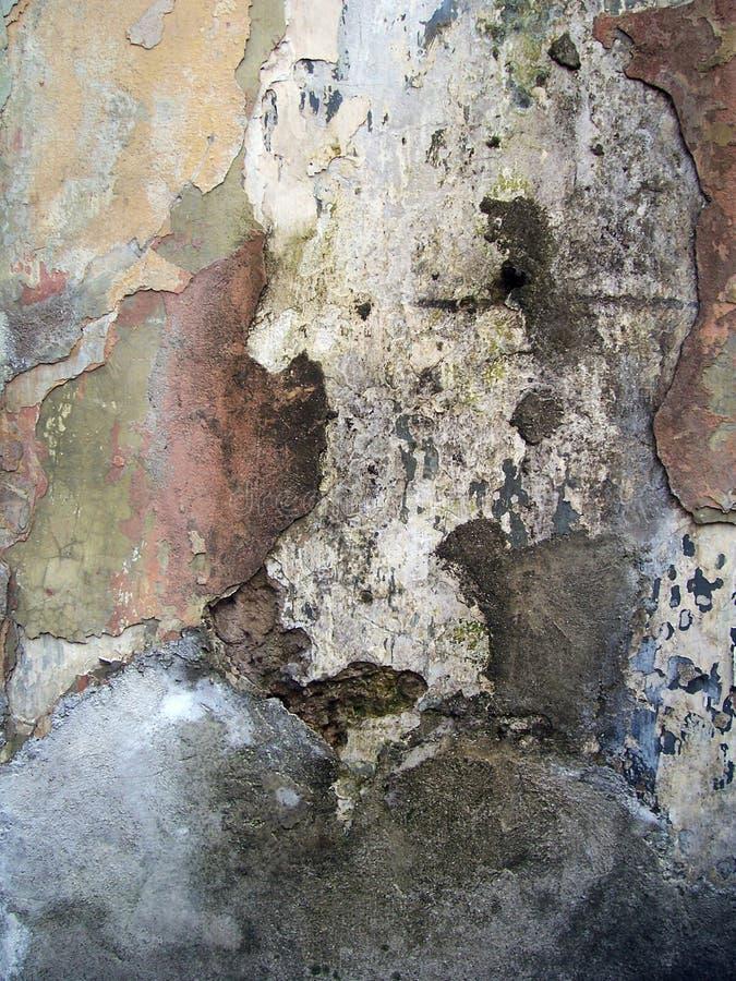 De oude achtergrond van de muurtextuur stock foto