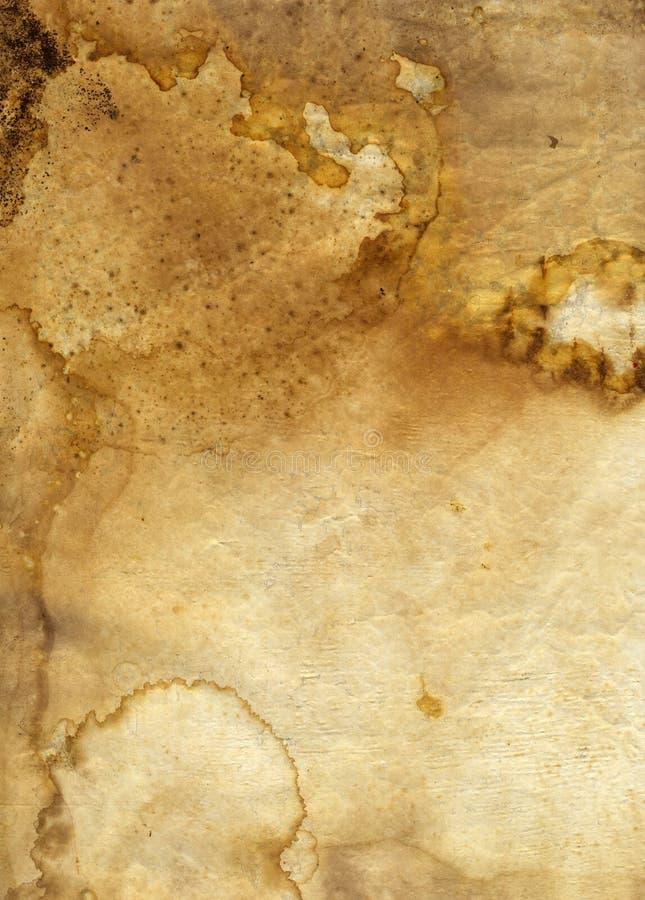 De oude Achtergrond van de textuur van Grunge van de Borst van de Thee royalty-vrije stock afbeelding