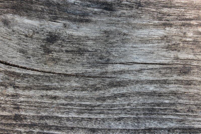 De oude achtergrond van de grunge houten textuur Wit en zwarte foto royalty-vrije stock afbeelding
