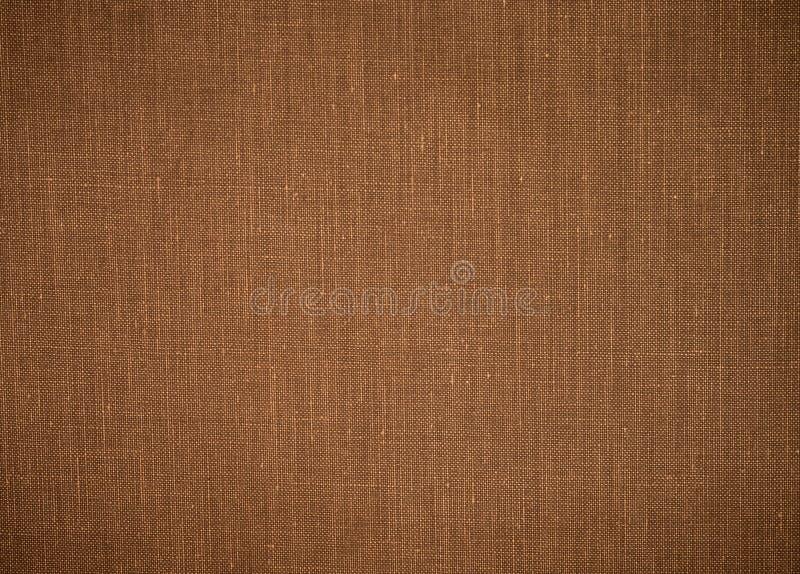 De oude achtergrond van de stoffentextuur De textiel van de Grungejute Het materiaal van de zakdoek stock foto