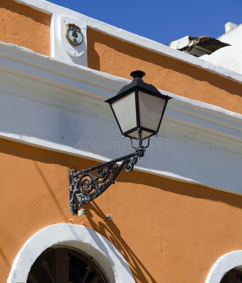 De oude architectuur van San Juan stock afbeelding