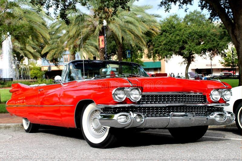 De oude auto Cadillac stock foto