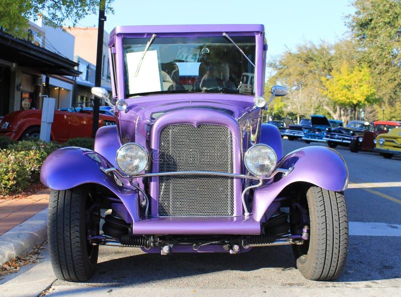 De oude Auto van Chevrolet royalty-vrije stock foto's