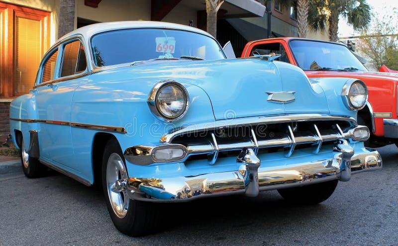 De oude Auto van Chevrolet royalty-vrije stock fotografie