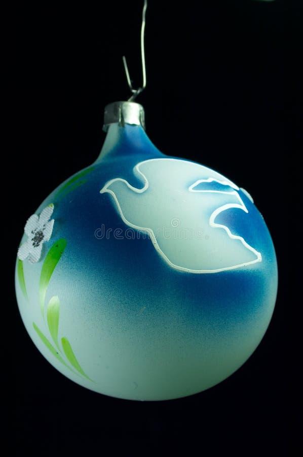 De oude bal van Kerstmis royalty-vrije stock foto