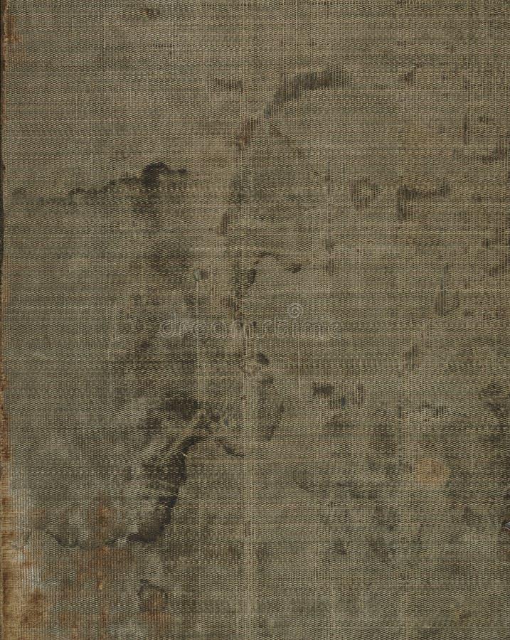 De Oude Bevlekte Textuur Van De Linnendoek Royalty-vrije Stock Foto's