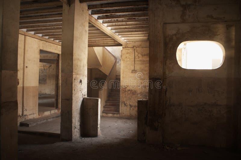De oude bouw stock foto