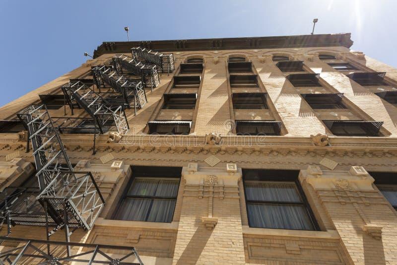 De oude bouw in Fort Worth, de V.S. royalty-vrije stock foto