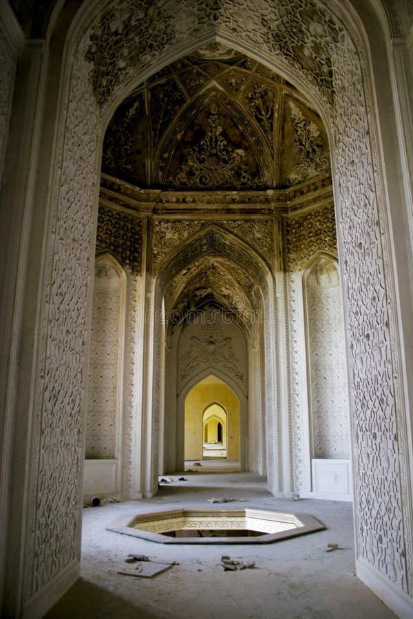 De oude bouw in Iran stock foto