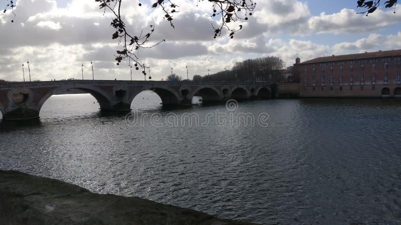 De oude bouw van Toulouse Frankrijk stock foto's