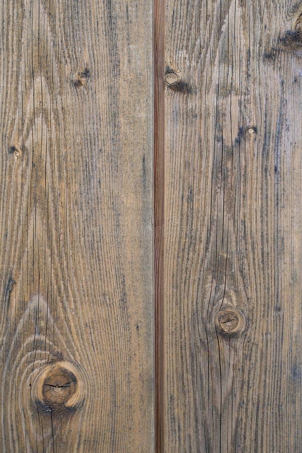 De oude bruine houten plankmuur of achtergrond van de bureautextuur royalty-vrije stock foto