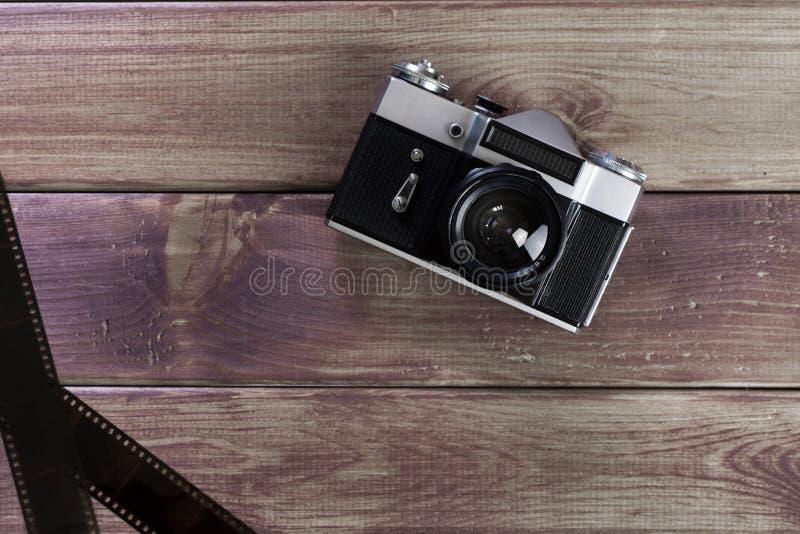 De oude camera royalty-vrije stock afbeelding