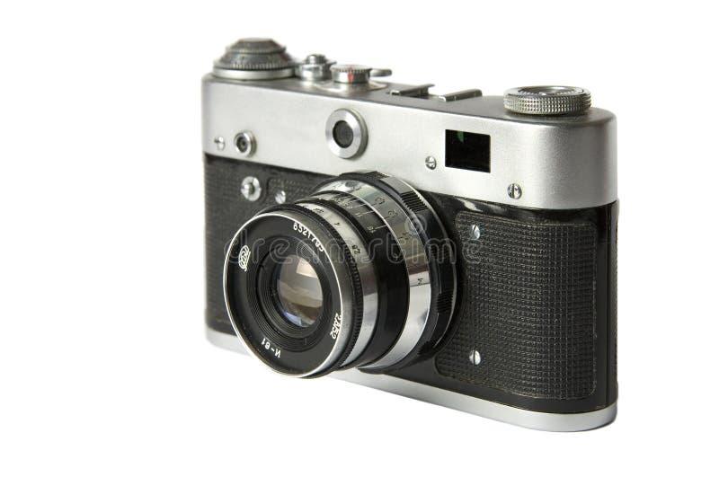 De oude camera van de filmafstandsmeter stock afbeelding
