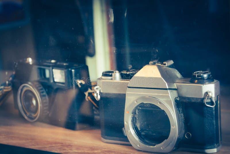 De oude camera van de Manier antieke film stock foto's